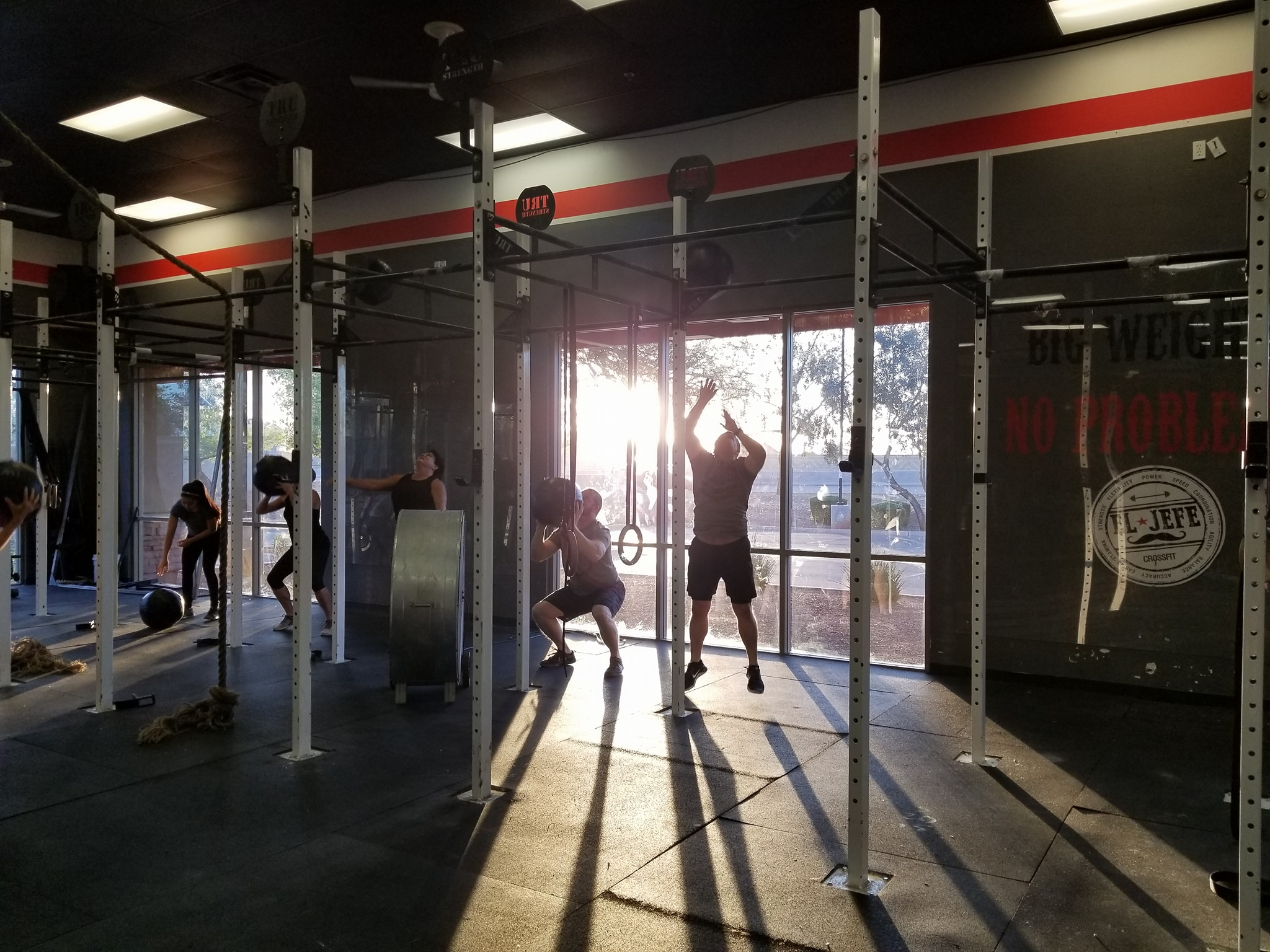 Training (Wall Ball)